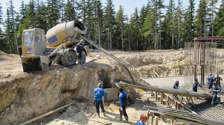 Добыча бетона купить подрозетник по бетону в москве